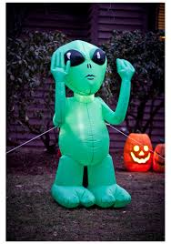 inflatable alien lawn decoration halloween decorations