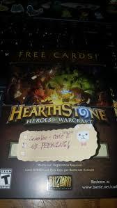 battlenet prepaid card free hearthstone free card pack 2 prepaid cards