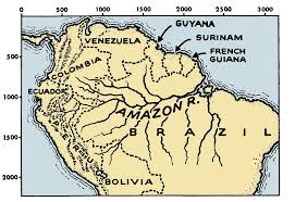 Amazon River On World Map by File Amazon River Map 001 Png The Work Of God U0027s Children