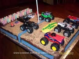birthday cake ideas adorable of monster truck birthday cakes