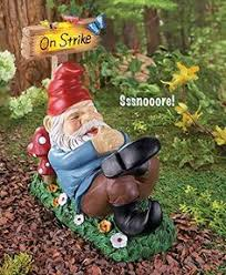 Gnome Garden Decor When You Are Trying To Sell A Home It U0027s Good Luck To Bury Your