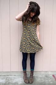 the moptop leggings tunic dress lace up boots love her style