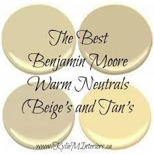 Beige Paint Best Benjamin Moore Warm Neutral Paint Colours Yellow And Orange