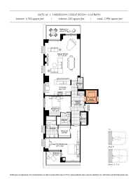 Toronto Condo Floor Plans Floor Plans The Davies Luxury Condo