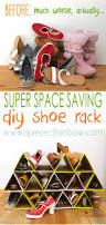 super space saving diy shoe rack diy shoe rack shoe rack and