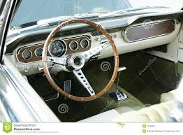 mustang vintage vintage mustang dashboard stock photos image 5745953