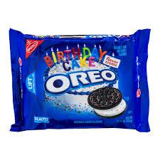 where to buy white fudge oreos oreo sandwich cookies peanut butter creme 15 25 oz walmart