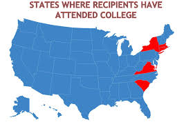 Ccsu Map Colleges And Universities Attended Deeley Foundation