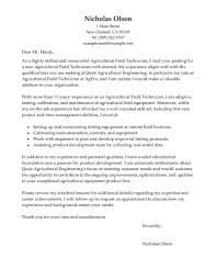 Sample Resume Cover Letter Format by Best Field Technician Cover Letter Examples Livecareer