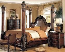 Four Poster Bedroom Sets Appealing Four Poster Bedroom Sets Queen Size Canopy Bedroom Four