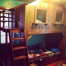 Really Cool Beds My Friends Dad Built Her Brother And Sister A Really Cool Bunk Bed