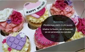 Personalised Cupcakes Oh So Bakery