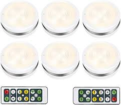 battery operated led lights for kitchen cabinets wireless led puck lights isbeller cabinet lighting with remote battery operated counter lighting for kitchen dimmable closet