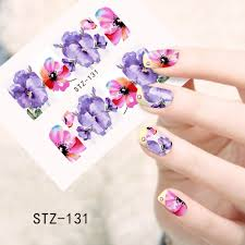 1sheets fashion designs fancy beauty nail art stickers decals