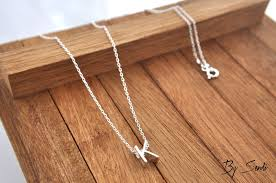 silver letter necklace pendants images Sterling silver letter necklace letter pendant letter chain jpg