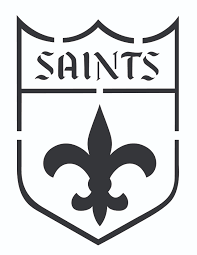new orleans saints silhouette pinterest saints and stenciling