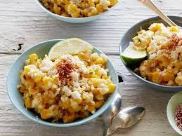 deconstructed mexican style corn recipe chris santos food network