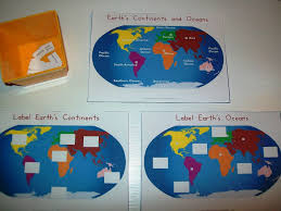 World Map Of Continents And Oceans To Label by My Little Pony Unit Every Star Is Different