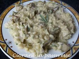 cuisine boudin blanc risotto au boudin blanc la cuisine de quat sous