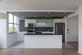 modern kitchen design ideas modern kitchen modern kitchen with one wall high ceiling in miami