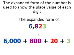 numbers in expanded form place value lessons tes teach