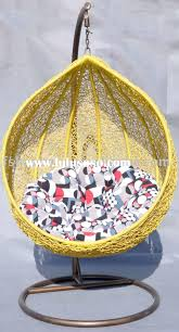 Yellow Chairs For Sale Design Ideas Rattan Patio Swing Chair Hanging Chair Patio Pinterest