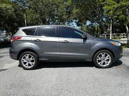 used lexus suv sarasota pre owned 2013 ford escape sel with leather sport utility in