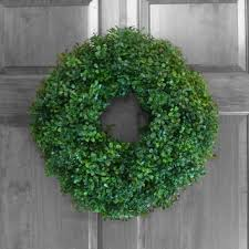 artificial boxwood wreath artificial boxwood wreath outdoor from refinedwreath on etsy