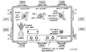 am 1780 vrc radio intercom main junction box