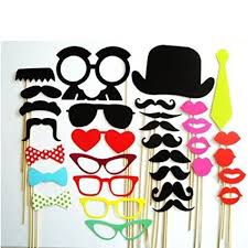 Photo Booth Buy Buy Christmas Decoration Colorful Photo Booth Props Set Of 36