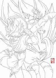 18 coloring pages images dragon ball