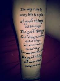 arm tattoo quotes fandom tattoos that you gotta see
