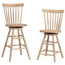 White Wooden Bar Stool Dining Room Inspiring 24 Inch Counter Stools For Home Furniture