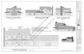 porch blueprints h212 country 2 porch house plan blueprints construction style