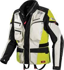 motorcycle touring jacket spidi flo yellow voyager 3 motorcycle touring jacket with water