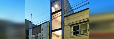 435 Meters To Feet by Super Skinny 1 8 Meter Wide House Slots Into A Narrow Tokyo Lot