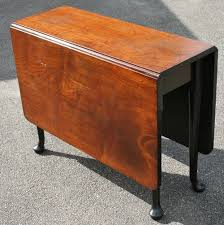 Square Drop Leaf Table Antique George Iii Mahogany Gateleg Square Drop Leaf Table On Clubfeet