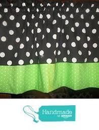 Lime Green Polka Dot Curtains Black White 2 Checks Chef Coca Cola Kitchen Polka Dot Retro