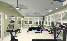 exercise room remodel in middlesex county