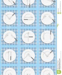dining etiquette seamless pattern background for menu of restau