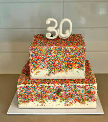 innovative decoration 30th birthday cakes interesting ideas best