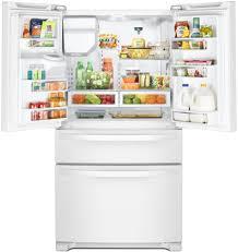Whirlpool Inch French Door Refrigerator - whirlpool wrx735sdhw 36 inch 4 door french door refrigerator with