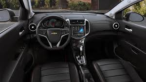 Chevrolet Sonic Interior Waverly Oh Chevrolet Sonic