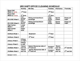 shift schedule templates u2013 12 free word excel pdf format
