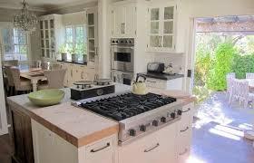 napa kitchen island boxwood terrace ina garten s napa valley kitchen