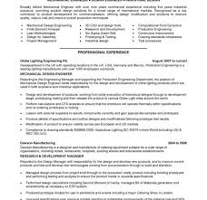 Resume Format For Experienced Production Engineers Download Hvac Resume Samples Haadyaooverbayresort Com