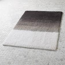 ombre bath mat cb2