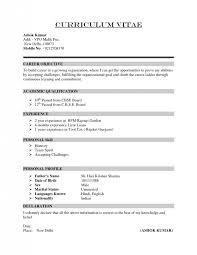 How To Prepare A Resume For A Job How Prepare Resume Cbshow Co