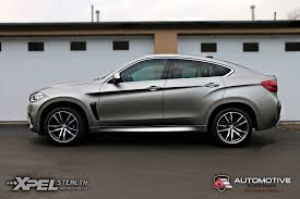 matte wrapped cars 2016 bmw x6m u2013 full vehicle wrap u2013 xpel stealth matte ppf
