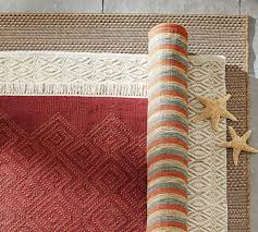 Red Outdoor Rug by Peyton Synthetic Indoor Outdoor Rug Celadon Pottery Barn Au